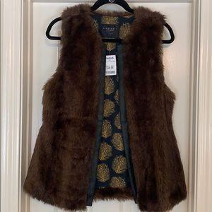 NWT Sanctuary Faux Fur Vest
